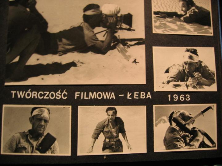 Julian Jaskólski, collage zkroniki AKF X Muza 1963
